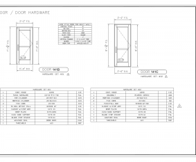 Door Hardware Sheet - 2  sc 1 st  Commercial Architectural Products & Drafting | Commercial Architectural Products Inc.