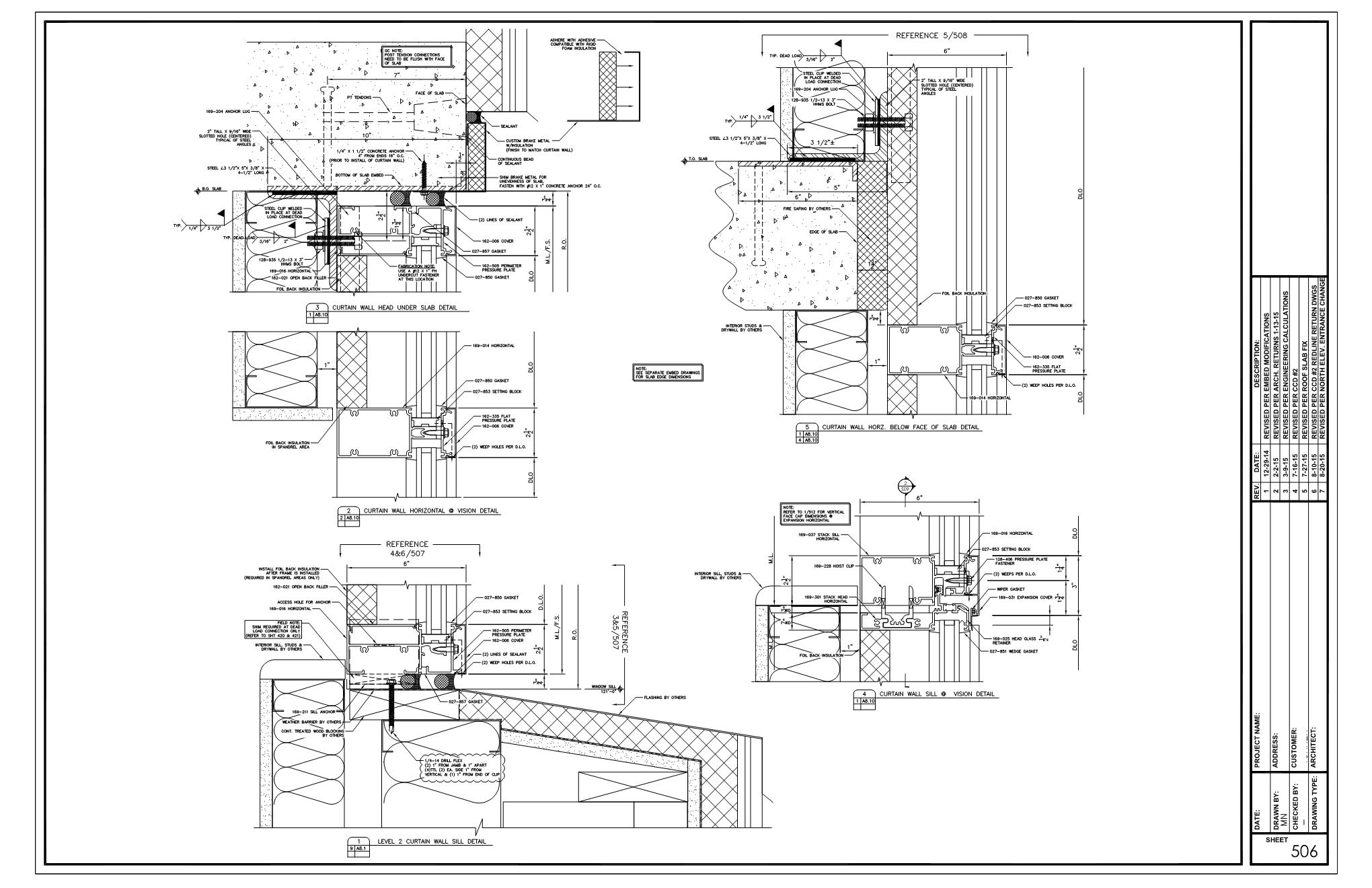 Drafting Commercial Architectural Products Inc